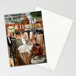 Britt & Jamie's Wedding Painting Stationery Cards