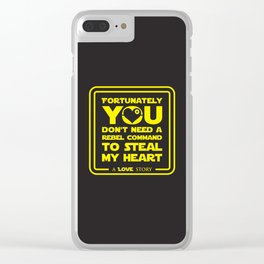 You dont need a rebel command Clear iPhone Case