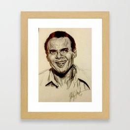 Harry Belafonte Framed Art Print
