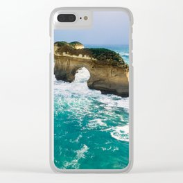 Rock Fomation Clear iPhone Case