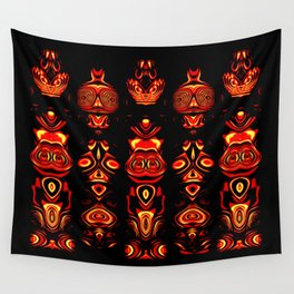 Tribal Totem Wall Tapestry