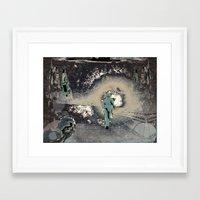 safari Framed Art Prints featuring safari by Shane R. Murphy