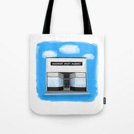 Warren Meat Market - Warren Ohio 100 Tote Bag
