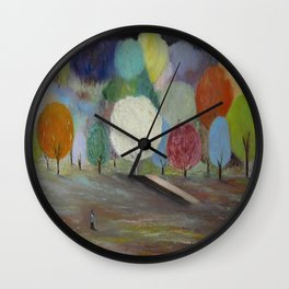 Symphony of Colours Wall Clock