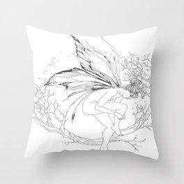fairy dancer Throw Pillow