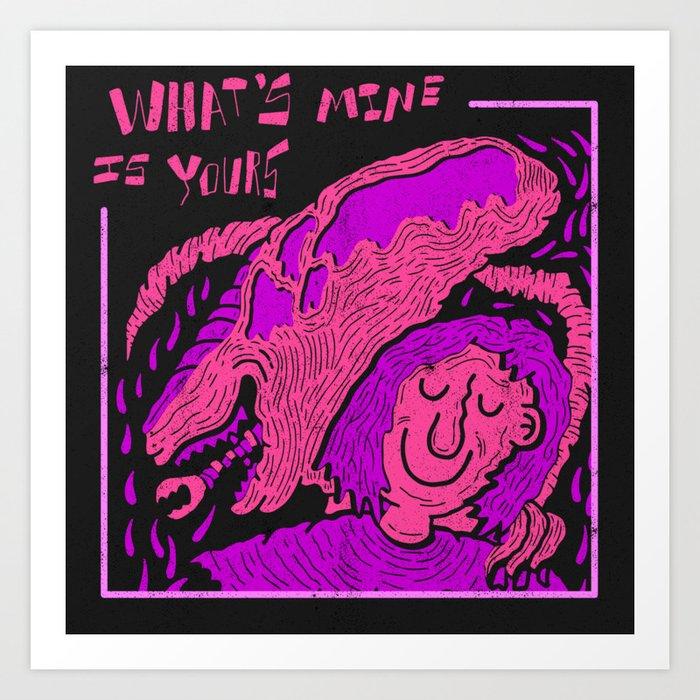 Alien Covenant X Cardi B Art Print