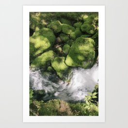 Feel the Wetness in the Air Art Print