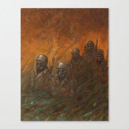 Men at War Canvas Print