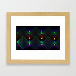Point Mountain Vortex Framed Art Print