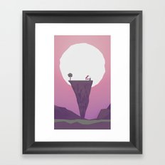 Another Full Moon Framed Art Print