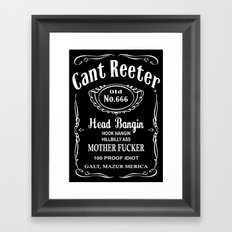 Terry Cant Reeter Framed Art Print
