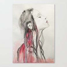 Vampires are lucky Canvas Print