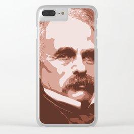 Nathaniel Hawthorne Clear iPhone Case
