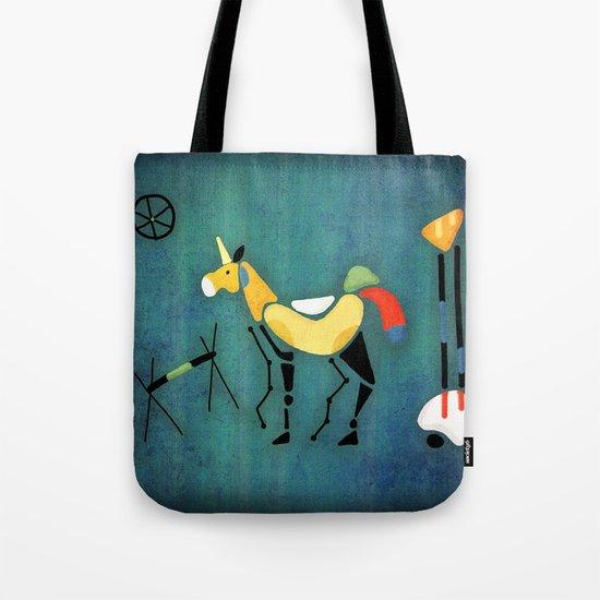 Surrealist Unicorn Tote Bag