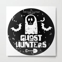 The Singular Fortean Society Ghost Hunters Metal Print