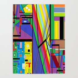 Geometry Abstract Poster