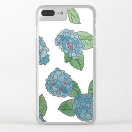 Hydrangeas II Clear iPhone Case