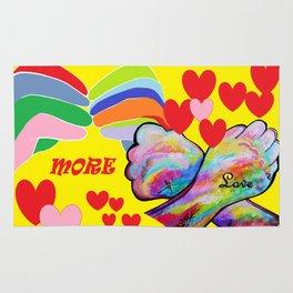ASL More Love! Rug