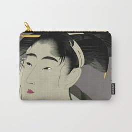 Utamaro #1 Carry-All Pouch