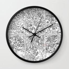The Rowan Tree Wall Clock