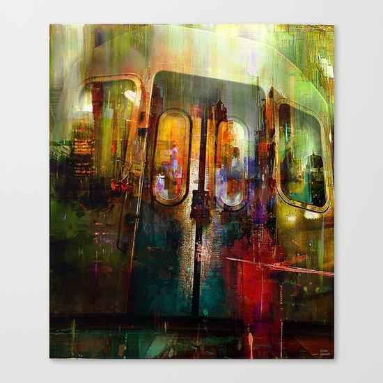 The last car Canvas Print