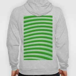 Green abstract lines Hoody