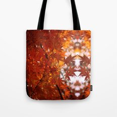 engulfed in flame Tote Bag
