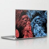 gladiator Laptop & iPad Skins featuring PNKMNKY by karakalemustadi