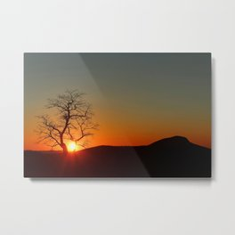 Sunset over Virginia Metal Print