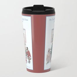 Team Cap Naughty Pinup Holiday Card Travel Mug