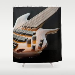 Music is Real Magic Shower Curtain