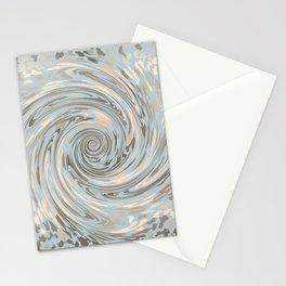 GRAY SAFARI FLOW Stationery Cards