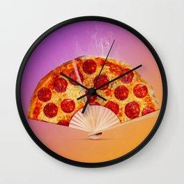 Pizza fan Wall Clock