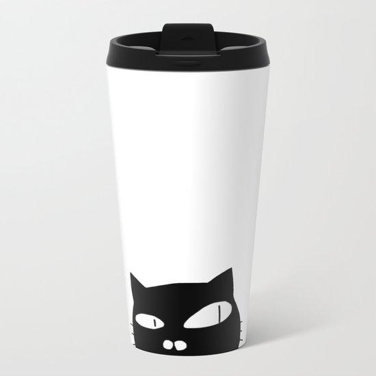 cat-13 Metal Travel Mug