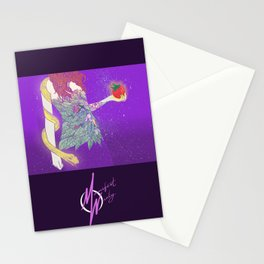 eve and the snake Stationery Cards