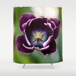 the empty vessel makes the greatest sound Shower Curtain