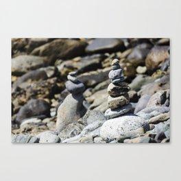 Balance Stones Canvas Print