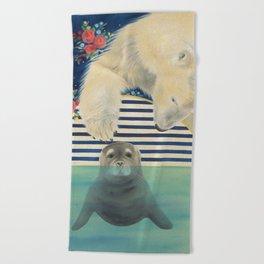 Polar Plunge Beach Towel