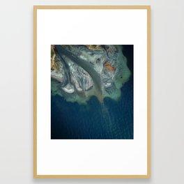 Lake Washington Creek Framed Art Print