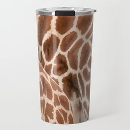 Abstract giraffe picture Travel Mug