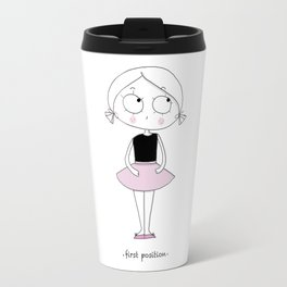 """First Position Travel Mug"