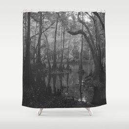 Florida Swamp Shower Curtain