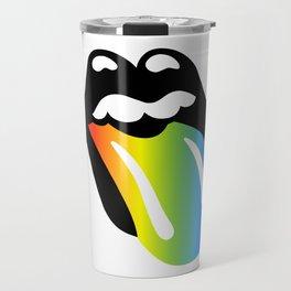 Rainbow Mouth Travel Mug