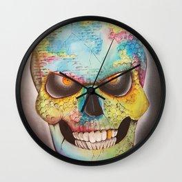 Mr. skull himself Wall Clock