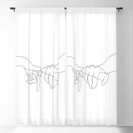 Pinky Swear Blackout Curtain