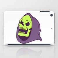 skeletor iPad Cases featuring Skeletor Evil laugh by Komrod