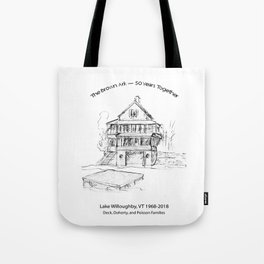 Brown Ark 50 years Tote Bag
