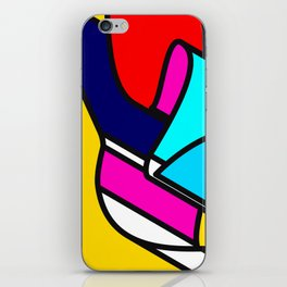 Abstract Art #5 iPhone Skin