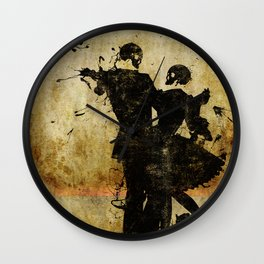 Dance With The Dead Wall Clock