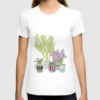 cactus T-shirts featuring Cactus by Olivia James